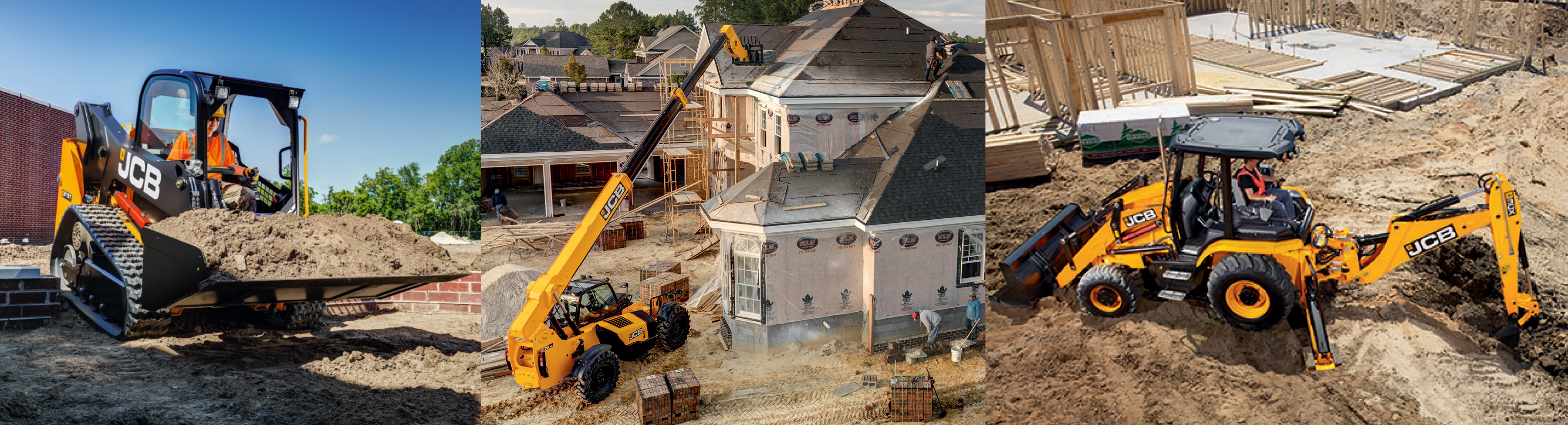 JCB Equipment For Rent In Georgia | Low Country JCB